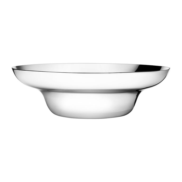 Georg Jensen Alfredo Salad Bowl in Stainless Steel Finish by Alfredo Häberli