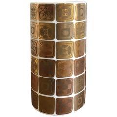 Bjorn Wiinblad Porcelain Vase for Rosenthal Studio Linie Quatre Couleurs, 1960s
