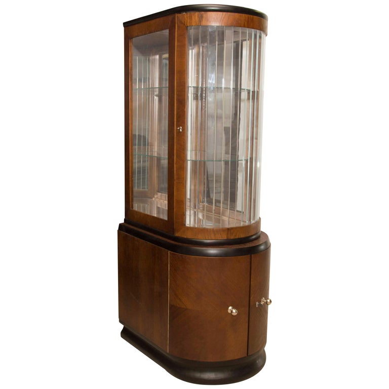Art Deco Oak Liquor Cabinet, 1930s