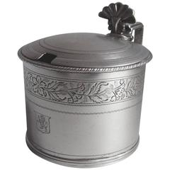 Good George III Mustard Pot, of Large Size, Made in London in 1808
