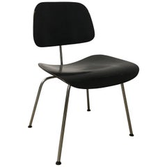 1946, Ray & Charles Eames for Herman Miller, DCM in Painted Black Version