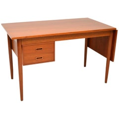 Vintage Danish Drop Leaf Desk, 1960s