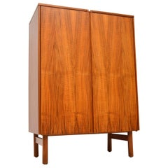 1960s Vintage Walnut Drinks Cabinet by Robert Heritage for Archie Shine