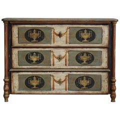 19th Century Italian Painted Commode