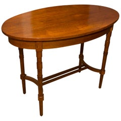 Early 20th Century Secessionist Oak Occasional Table, Austria-Hungary