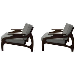 Adrian Pearsall Pair of Lounge Chairs