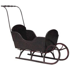 American Country Child's Sleigh, 19th Century