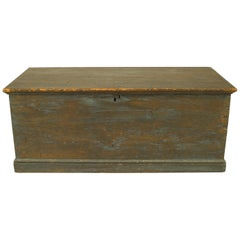 American Country Blanket Chest or Floor Trunk
