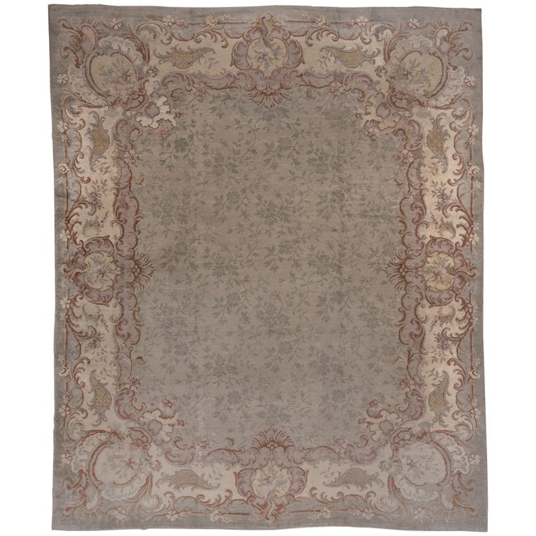 Antique French Savonnerie Carpet
