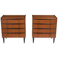 Pair of Danish Bachelor Chests