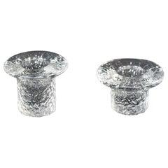 '2' Scandinavian Midcentury Candleholders