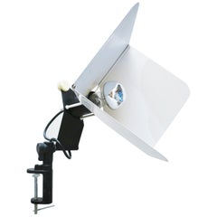 Joe Colombo Triedro Clamp Lamp for Stilnovo