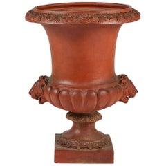 Large Medici Vase in Terracotta