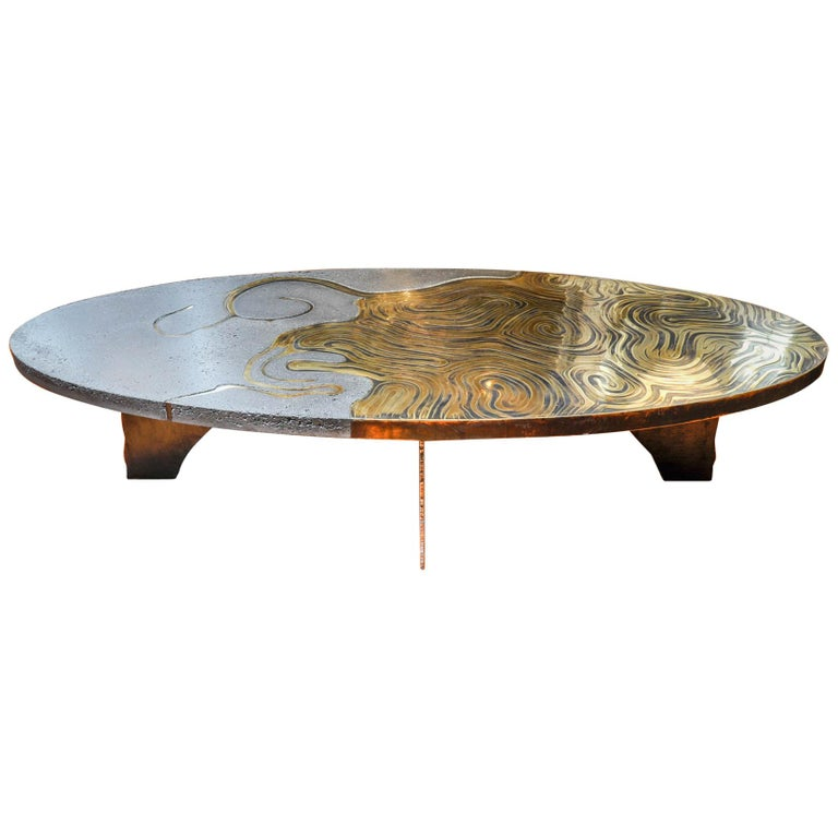 Exceptional Coffee Table by Erwan Boulloud