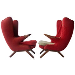 Pair of Sven Skipper Lounge Chairs
