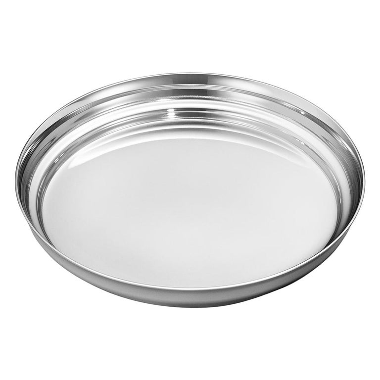Manhattan Wine Coaster in Stainless Steel by Georg Jensen For Sale