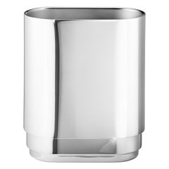 Manhattan Small Vase in Stainless Steel by Georg Jensen