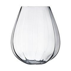 Georg Jensen Facet Large Glass Vase by Rikke Hagen