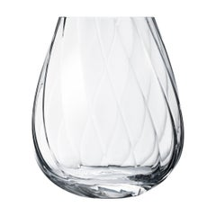 Georg Jensen Facet Tall Glass Vase by Rikke Hagen