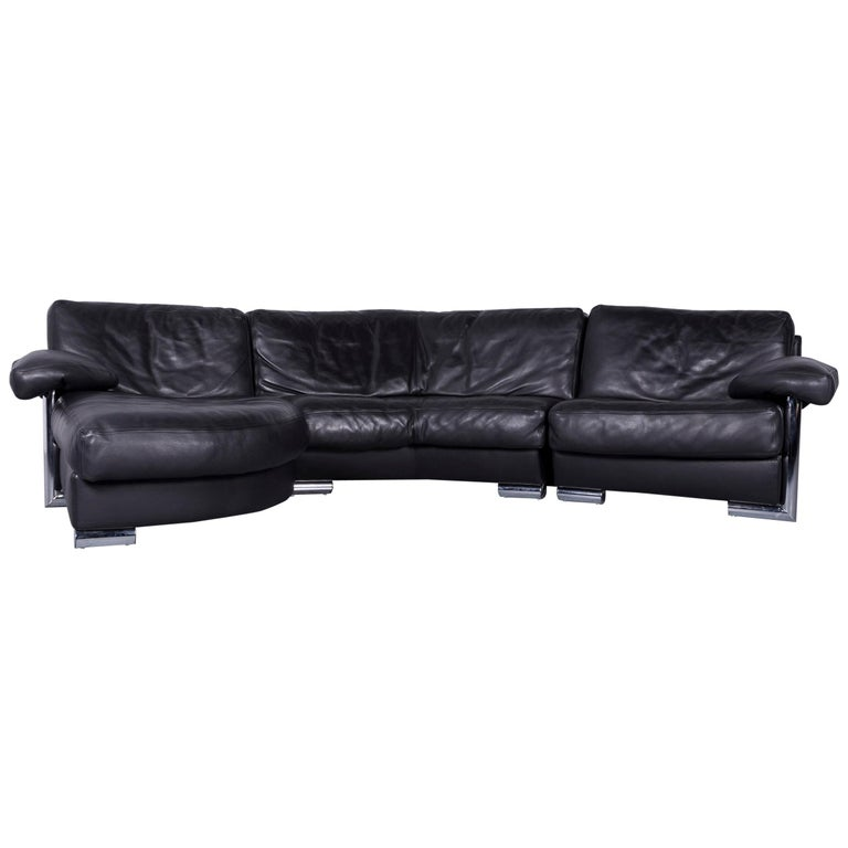 Black Leather Corner Sofa Ebay: Black Leather Corner Sofa Decorate Your Home With Black