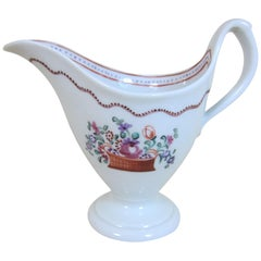 Newhall Pattern 171 Spray Decorated Creamer