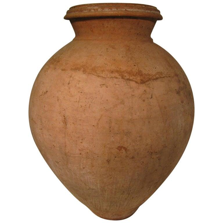 Olive-storage urn, ca. 1850, offered by Dennis Gargiulo Gallery