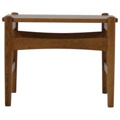 Hans J. Wegner Oak Side Table Model AT 50