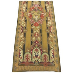 19th Century Antique Aubusson Wall Hanging Tapestry or Portier