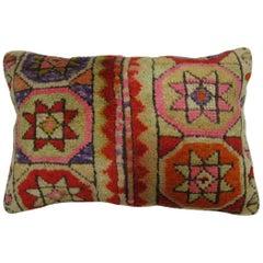 Boho Turkish Bolster Rug Pillow