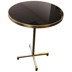 Re: 205 Brass Side Table with Black Mirror Glass