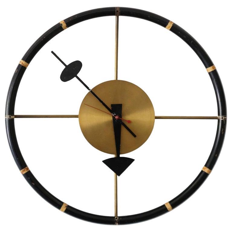 George Nelson Associates for Howard Miller Steering Wheel Clock, 1949
