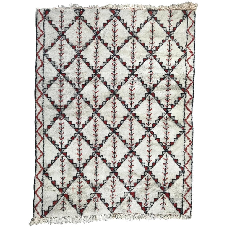 Beautiful Vintage tribal rugs Moroccan Beni Ouarain Rug, beni ouaran Morocco rug