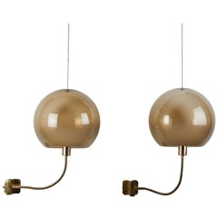 Eight Model 244 Sconces by Ico Parisi for Arteluce
