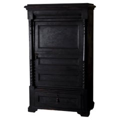 Cabinet Swedish Black 19th Century, Sweden