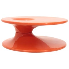 Space Age Orange Coffee Table, 1970s