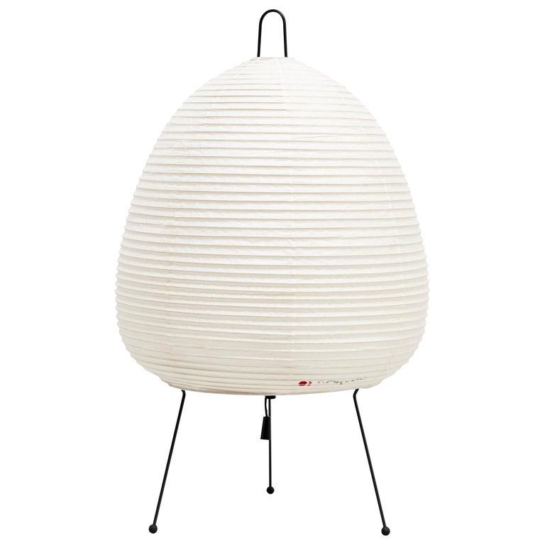Isamu Noguchi Akari 1A lamp, ca. 1980, offered by Dada
