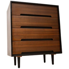 1950s Vintage Walnut Chest of Drawers by John & Sylvia Reid for Stag C Range