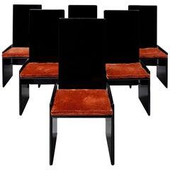'Kazuki' Chairs by Kazuhide Takahama for Gavina, Italy, 1968