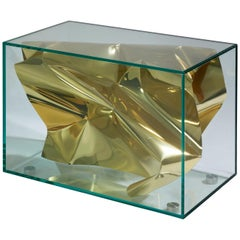 Side Table, 'Gold Crush,' by Fredrikson Stallard