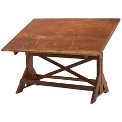 20th Century American Architect's Drafting Table