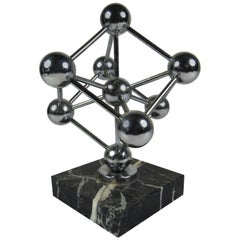 Atomium 1958 Worlds Fair Brussels Belgium Atomic Paper Weight