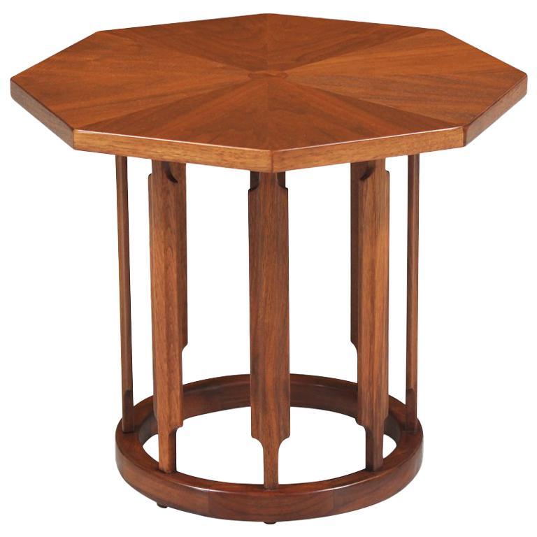 Kipp Stewart & Stewart MacDougall Walnut Side Table for Drexel