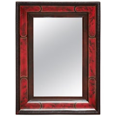 Faux Tortoise Shell Mirror