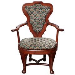 Rare Queen Anne Armchair