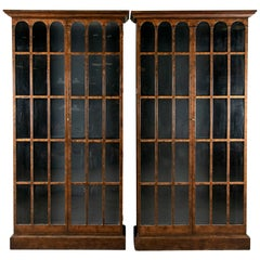 Fine Pair of Baker Furniture Bookcase Cabinets