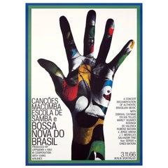 Gunther Kieser Bossa Nova Do Brasil Poster