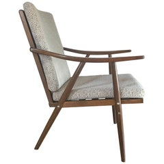 1960s French Armchair from Thonet, Boomerang Chair