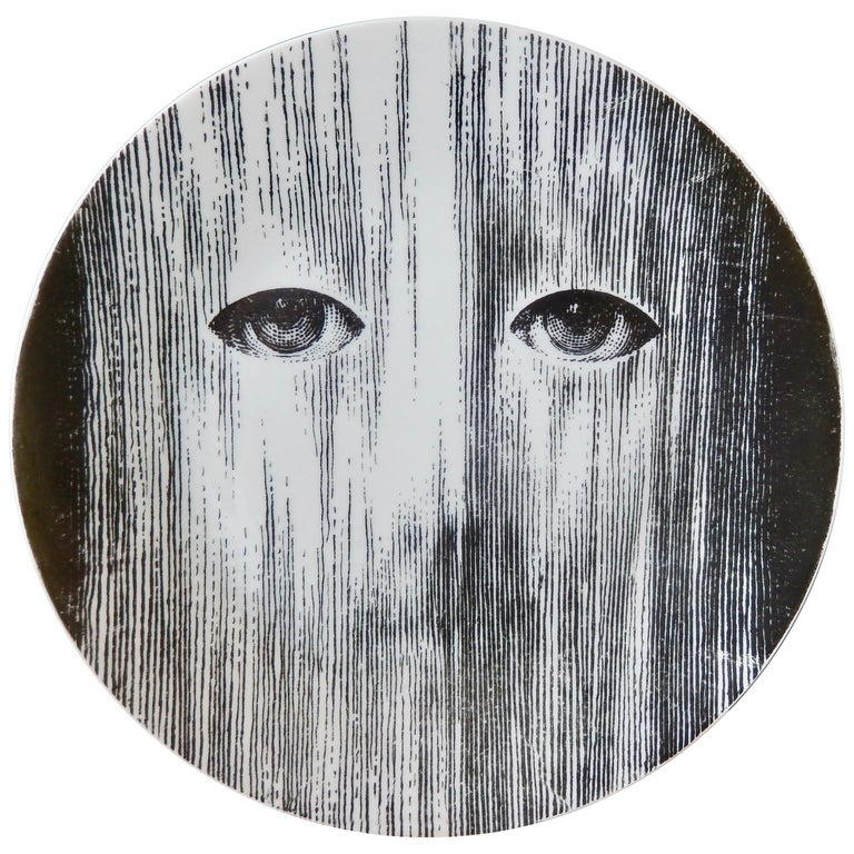 Fornasetti Face Plate, Tema e Variazioni, N116