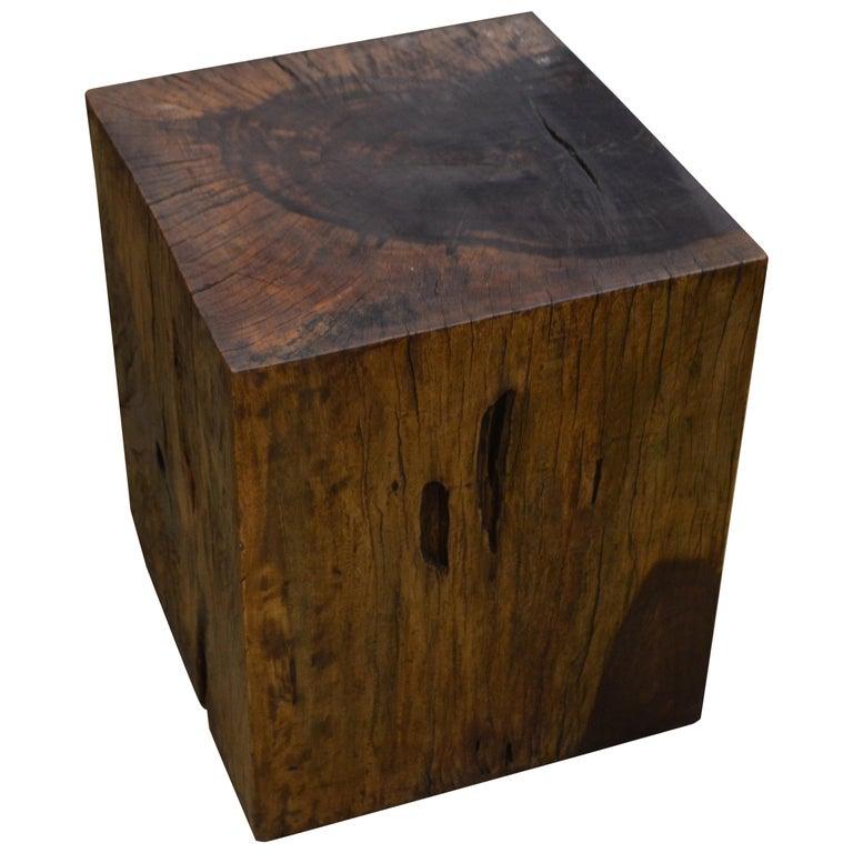 Andrianna Shamaris Tamarind Wood Side Table