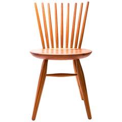 """Severino"" Chair in Peroba Rosa Wood, Woodworking Brazilian Design"